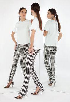 BO.BÔ mixed print pants