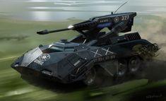 Scorpion Tank by Phade01.deviantart.com on @deviantART
