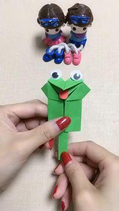 Diy Crafts For Kids Easy, Diy Crafts Hacks, Diy Crafts For Gifts, Cute Crafts, Creative Crafts, Paper Crafts Origami, Paper Crafts For Kids, Origami Art, Preschool Crafts