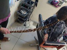 Time to chop it Long Hair Cuts, Long Hair Styles, Hair Shears, Shearing, About Hair, Haircuts, Braids, Hair Beauty, Falling Down