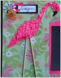 duct tape flamingo (awesome!0 by Cindi Bisson - Duck Brand duct tape challenge