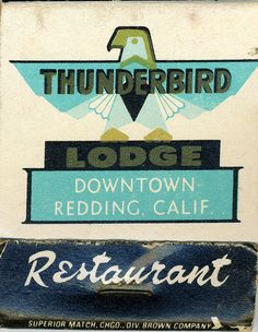 Thunderbird Matchbook