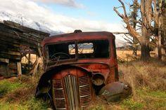 Camión viejo