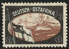 German East Africa Lost Colony Stamp 1919