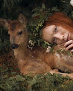 28 Ideas For Fantasy Photography Magic Animals Fantasy Photography, Portrait Photography, Baby Girl Blue Eyes, Foto Fantasy, Foto Shoot, Photos Of Eyes, Natural Redhead, Tier Fotos, Spirit Animal