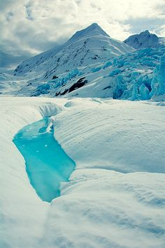 Portage Glacier Pool, Anchorage, Alaska