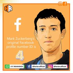 "Do you know #Facebook CEO #Mark #Zuckerberg's original profile number ID is ""4"". .. . Follow Us @hsriar.official ... .. . Contact Us Email : hsriar.work@gmail.com Whatsapp: +91 9664640420  #facebookowner #facebook #markzuckerberg #facebookownerid #social #media #marketing #digitalmarketing #website #business #brand #socialpost #websitedesigner #hsriar #hsriarofficial #developer #websitedevelopment #seo #smo #emailmarketing #facebookfacts #aware #ceo #owners #graphics #graphicdesigner… Email Marketing, Social Media Marketing, Digital Marketing, Facebook Profile, S Mo, Graphics, Graphic Design, Number, Website"