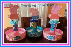CREACIONES CHIKITITAS - Peppa Pig