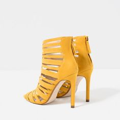 CAGE-STYLE STRAPPY SANDALS-SHOES-WOMAN-COLLECTION AW16 | ZARA United States