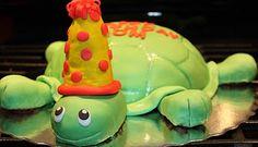 Cup O Cake: Turtle Birthday Cake - Sandra