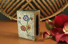 Antique CLOISONNE Match Safe Holder // from by @Successionary, $36.99