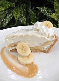 What's For Supper?: Banana Breeze Pie