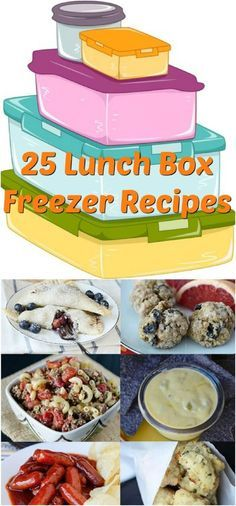 25 Lunch Box Freezer Recipes