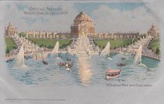 St..Louis World's Fair Festival Hall And by Museumofantiquepaper