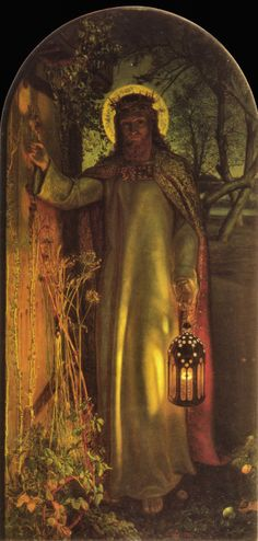 """The Light of the World"" William Holman Hunt"