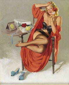 Vintage Pin-up Girls of Gil Elvgren Gallery 2