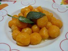gnocchi di #zucca e #patate