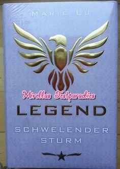 Der zweite Band Schwellender Sturm der Legend Trilogie.