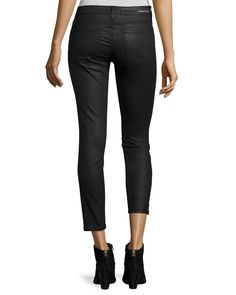The Stiletto Coated Jeans, Black