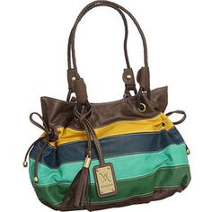 "Purse Boutique: Multi-Color Vitalio Oversized ""St Croix"" Tot ..."