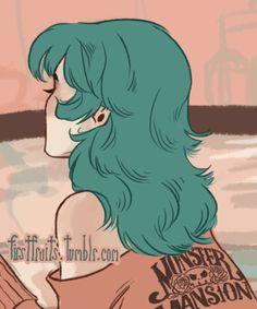 Renee's Hair by CrystalCurtis