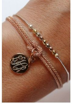 Squre Knot Bracelet {Pictured with Rosa Bracelet}