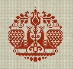 Παραδοσιακά σχέδια για κέντημα / Tradditional cross stitch p...