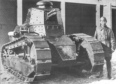 Renault FT-17 tank in the Polish service