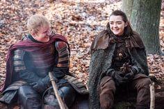 Ed Sheeran and Maisie Williams Game of Thrones