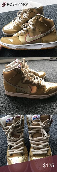"""Nike SB Eric Koston """"Thai Temple"""" Men's 10.5 Hardly ever worn Koston """"Thai Temple"""" SB Dunk High Pros. Great condition. VERY HARD TO FIND Nike Shoes Sneakers"""