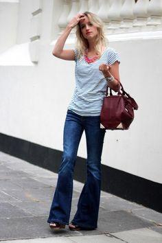 Flared jeans | THEFASHIONGUITAR