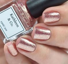 Rose-Gold Digger Rose gold Nail Polish 5 by kathleenandcopolish