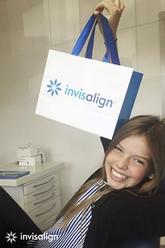 Teens love the flexibility and freedom of Invisalign® treatment. (They'll love it even more when they find out it's up to 2x faster!*) (Photo Credit: @victoria_marquardt, Instagram) #invisalign #straightteeth #braces #orthodontics  *With weekly aligner changes vs. 2-week wear. Orthodontic Appliances, Gap Teeth, Crooked Teeth, Teeth Straightening, Find A Doctor, Orthodontics, Dentistry, Your Smile, Braces