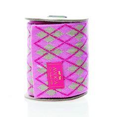 scarf on spool $49  http://www.chloeinstyle.com/argyle-scarf-spool-cerise-beige-p-3366.html