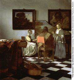 "The Concert by Johannes VermeerDate missing: 1990Market value: $200 millionThe most famous stolen painting in the world, ""The Concert"" was taken in the Gardner Museum theft. Vermeer painted the tableau in 1664. Photo: Precision Films, SFC"