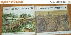 Valour Remembered book  war books  vintage books  by NewtoUVintage