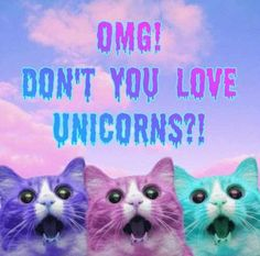 OMG! You don't love unicorns?! #quote