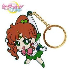 Sailor Jupiter Pinched Keychain   Sailor Moon Crystal