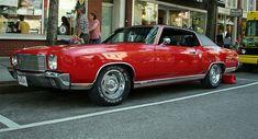 Red 1970s Chevy Monte Carlo SS by char1iej, via Flickr