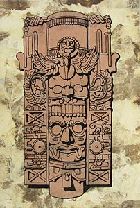 Quetzal Mayan Symbol kinich ahau on Pintere...