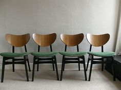 1950S ORIGINAL G PLAN E.GOMME, 4 BUTTERFLY CHAIRS +EXTENDING TABLE,FREE UK POST