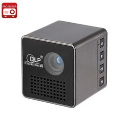 """Pocket DLP Projector """"Cube G1"""" - 30 Lumen, 4:3 + 16:9 Aspect Ratio, 640x360 Native Resolution, 800:1 Contrast, 950mAh Battery - Take your TV with you in your pocket with the """"Cube G1"""" mini Pico Projector."""