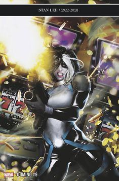 Browse the Marvel Comics issue Domino Learn where to read it, and check out the comic's cover art, variants, writers, & more! Ms Marvel, Domino Marvel, Marvel Comics Art, Marvel Girls, Comics Girls, Lego Marvel, Marvel Heroes, Marvel Characters, Marvel Women