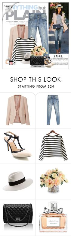 """""""Street style"""" by yexyka ❤ liked on Polyvore featuring Maison Michel, New Growth Designs, Christian Dior and Bobbi Brown Cosmetics"""
