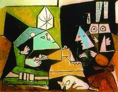 Las Meninas de Velásquez by Picasso, feat. Lump