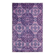 I pinned this Wyndham Treasures Rug in Purple from the Bold & Contemporary Rugs event at Joss and Main!