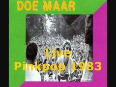 Doe Maar - Live op Pinkpop 1983 duur:  1:11:10