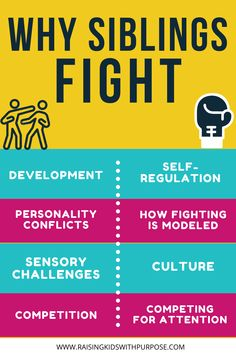 It's so hard when your kids are constantly fighting, arguing, yelling or not getting along. Here are 8 common reasons why brothers and sisters fight. Figure out the reason then get the fighting to STOP! #positiveparenting #parentingtips #parentingadvice #parenting #fighting #siblings #siblingrelationships Emotional Regulation, Self Regulation, Sibling Fighting, Common Quotes, Science Daily, Sibling Relationships, Positive Discipline, Parent Resources, Kids Health