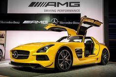 SLS AMG Black Series at the 2012 #LAAutoshow