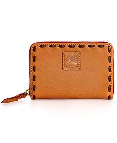 Dooney & Bourke Handbag, Florentine Medium Zip Around Wallet - Dooney & Bourke - Handbags & Accessories - Macy's